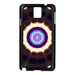 Mandala Art Design Pattern Samsung Galaxy Note 3 N9005 Case (black) by BangZart