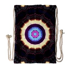 Mandala Art Design Pattern Drawstring Bag (large) by BangZart