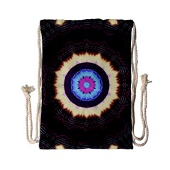 Mandala Art Design Pattern Drawstring Bag (small)
