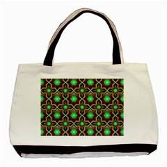 Pattern Background Bright Brown Basic Tote Bag by BangZart