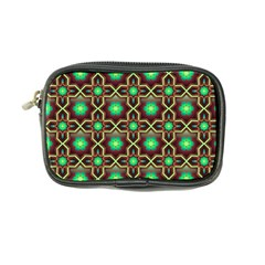 Pattern Background Bright Brown Coin Purse