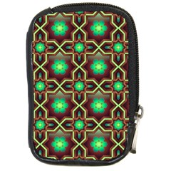 Pattern Background Bright Brown Compact Camera Cases by BangZart