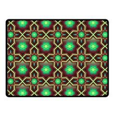 Pattern Background Bright Brown Fleece Blanket (small)