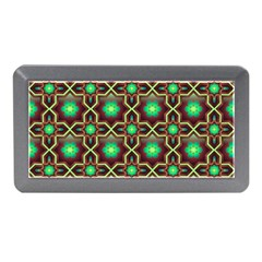 Pattern Background Bright Brown Memory Card Reader (mini) by BangZart
