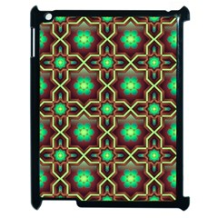 Pattern Background Bright Brown Apple Ipad 2 Case (black) by BangZart