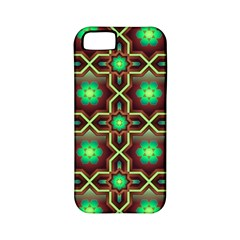 Pattern Background Bright Brown Apple Iphone 5 Classic Hardshell Case (pc+silicone) by BangZart