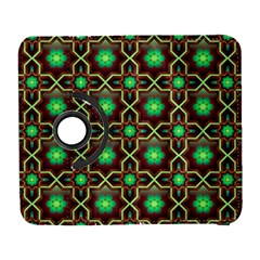 Pattern Background Bright Brown Galaxy S3 (flip/folio)