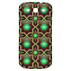 Pattern Background Bright Brown Samsung Galaxy S3 S Iii Classic Hardshell Back Case by BangZart