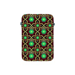 Pattern Background Bright Brown Apple Ipad Mini Protective Soft Cases by BangZart