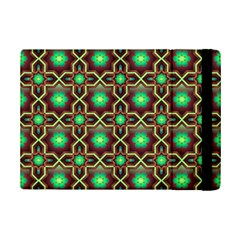 Pattern Background Bright Brown Ipad Mini 2 Flip Cases by BangZart