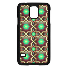 Pattern Background Bright Brown Samsung Galaxy S5 Case (black) by BangZart