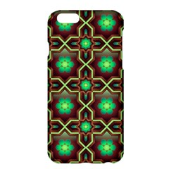 Pattern Background Bright Brown Apple Iphone 6 Plus/6s Plus Hardshell Case
