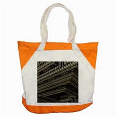 Fractal 3d Construction Industry Accent Tote Bag