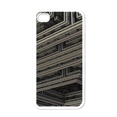 Fractal 3d Construction Industry Apple Iphone 4 Case (white) by BangZart