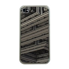 Fractal 3d Construction Industry Apple Iphone 4 Case (clear)