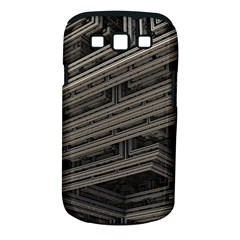 Fractal 3d Construction Industry Samsung Galaxy S Iii Classic Hardshell Case (pc+silicone)