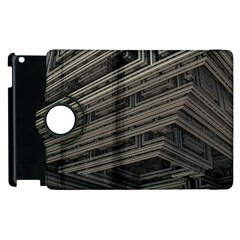 Fractal 3d Construction Industry Apple Ipad 3/4 Flip 360 Case by BangZart