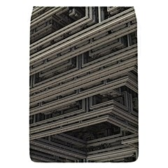 Fractal 3d Construction Industry Flap Covers (s)  by BangZart