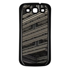 Fractal 3d Construction Industry Samsung Galaxy S3 Back Case (black)