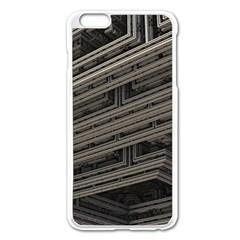 Fractal 3d Construction Industry Apple Iphone 6 Plus/6s Plus Enamel White Case