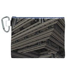 Fractal 3d Construction Industry Canvas Cosmetic Bag (xl) by BangZart