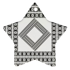 Pattern Background Texture Black Ornament (star)