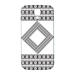 Pattern Background Texture Black Samsung Galaxy S4 I9500/i9505  Hardshell Back Case