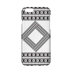 Pattern Background Texture Black Apple Iphone 6/6s Hardshell Case
