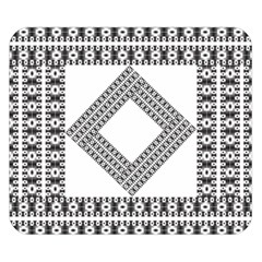 Pattern Background Texture Black Double Sided Flano Blanket (small)