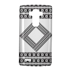 Pattern Background Texture Black Lg G4 Hardshell Case by BangZart