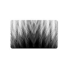 Feather Graphic Design Background Magnet (name Card)