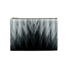 Feather Graphic Design Background Cosmetic Bag (medium)  by BangZart