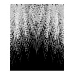 Feather Graphic Design Background Shower Curtain 60  X 72  (medium)  by BangZart
