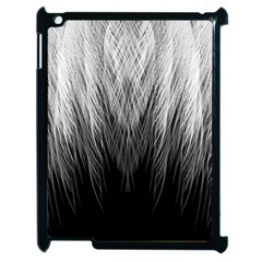 Feather Graphic Design Background Apple Ipad 2 Case (black) by BangZart