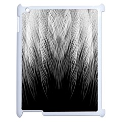 Feather Graphic Design Background Apple Ipad 2 Case (white)