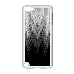 Feather Graphic Design Background Apple Ipod Touch 5 Case (white) by BangZart