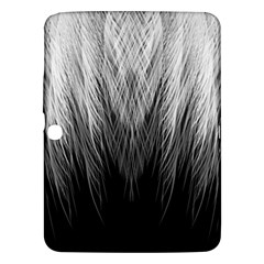 Feather Graphic Design Background Samsung Galaxy Tab 3 (10 1 ) P5200 Hardshell Case  by BangZart