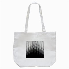 Feather Graphic Design Background Tote Bag (white)
