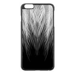 Feather Graphic Design Background Apple Iphone 6 Plus/6s Plus Black Enamel Case