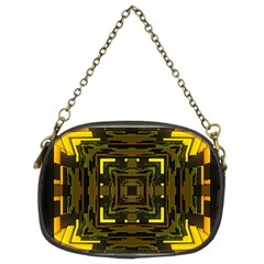 Abstract Glow Kaleidoscopic Light Chain Purses (two Sides)  by BangZart