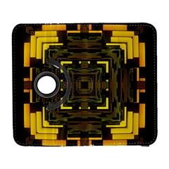 Abstract Glow Kaleidoscopic Light Galaxy S3 (flip/folio)