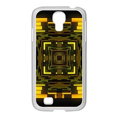 Abstract Glow Kaleidoscopic Light Samsung Galaxy S4 I9500/ I9505 Case (white)