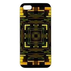 Abstract Glow Kaleidoscopic Light Iphone 5s/ Se Premium Hardshell Case by BangZart