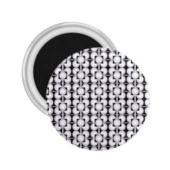 Pattern Background Texture Black 2 25  Magnets by BangZart