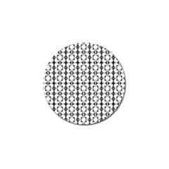 Pattern Background Texture Black Golf Ball Marker (10 Pack) by BangZart
