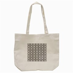 Pattern Background Texture Black Tote Bag (cream) by BangZart