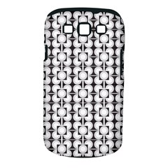 Pattern Background Texture Black Samsung Galaxy S Iii Classic Hardshell Case (pc+silicone) by BangZart