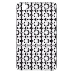Pattern Background Texture Black Samsung Galaxy Tab Pro 8 4 Hardshell Case by BangZart