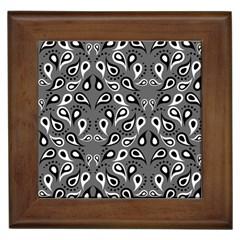 Paisley Pattern Paisley Pattern Framed Tiles