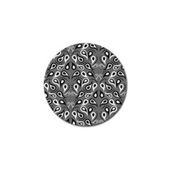 Paisley Pattern Paisley Pattern Golf Ball Marker (4 Pack) by BangZart